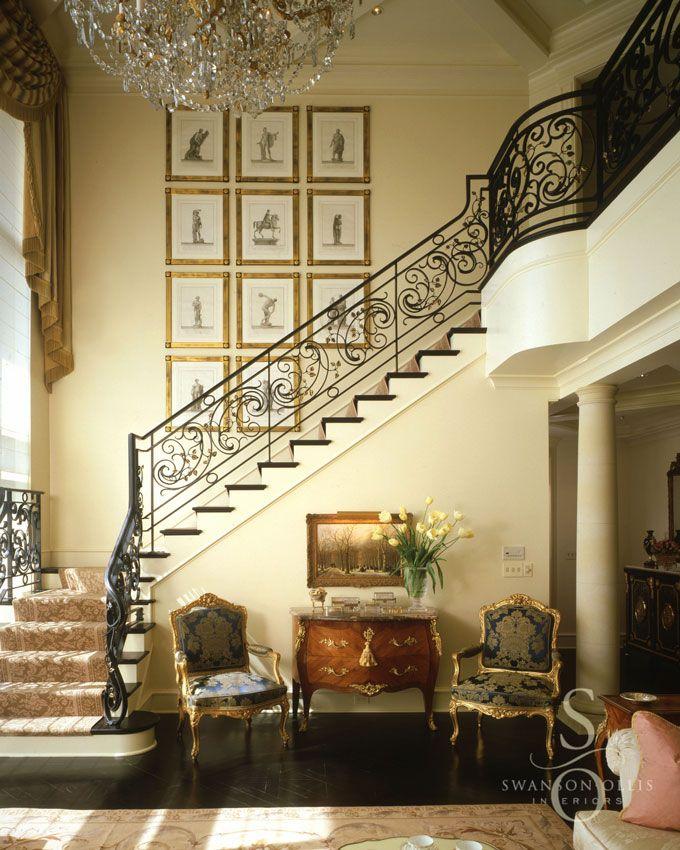 ** Foyer / Stairs - Swanson-Ollis Interiors