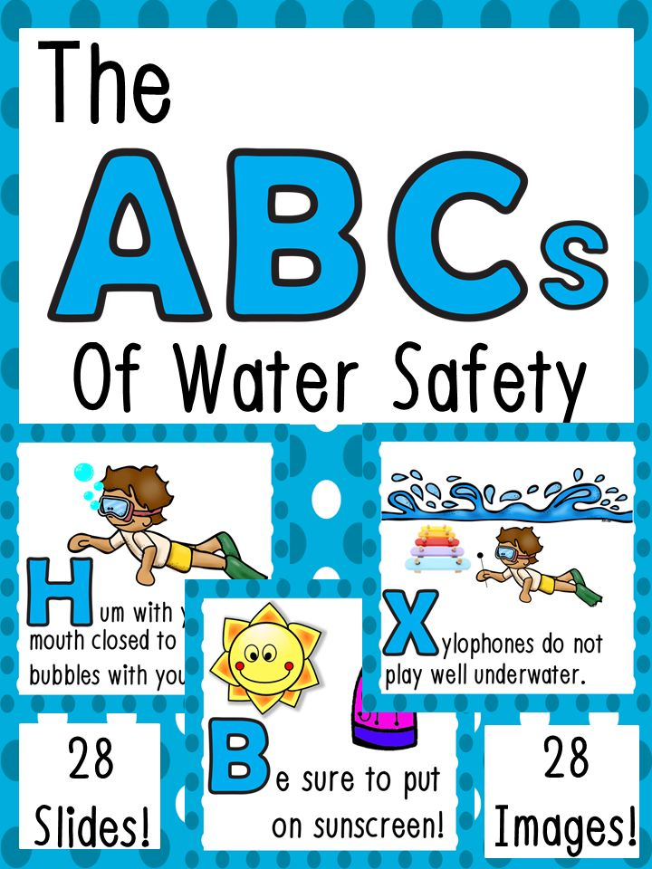 When I'm not teaching, I am a certified lifeguard and lifeguard instructor. I grew up in and around the water and have been lifeguarding for over 8 years. With the success of my Water Safety Tips PowerPoint Presentation, I decided to create the ABCs of Water Safety!