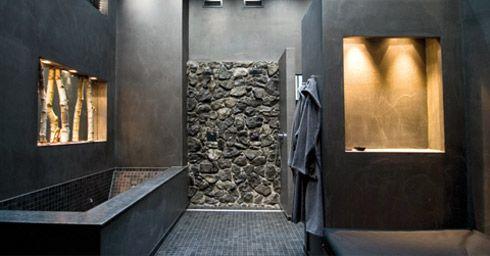 Badkamer wanden die tegen een druppel kunnen http://www.wonenonline.nl/badkamers/badkamer-wanden.html