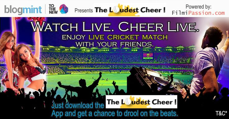 Watch Live! Cheer Live!  Yes, just download app 'The Loudest Cheer' by visiting: http://www.theloudestcheer.com/ & start cheering for your favorite team