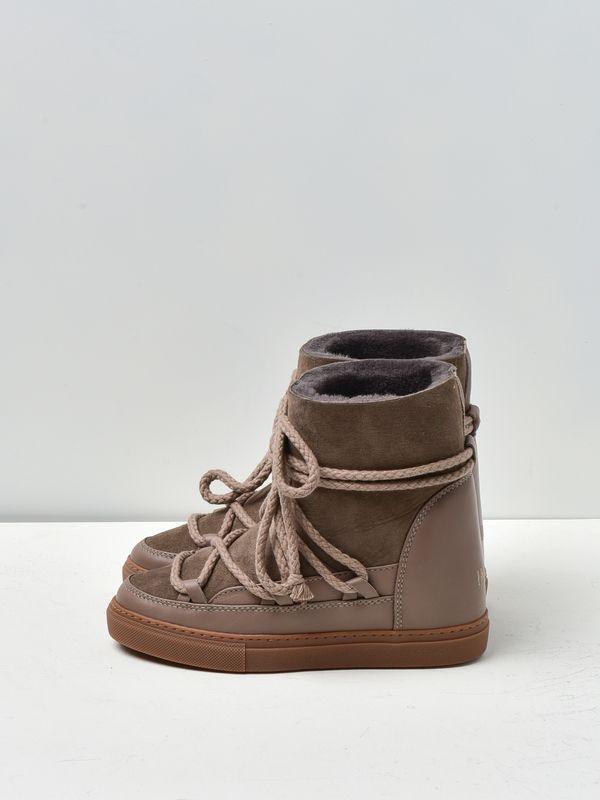 7398ff51012 Inuikii classic wedge sneaker - taupe