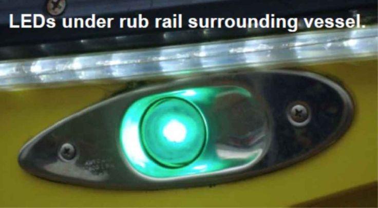 LED Navigation Lights Marine Safety Alert