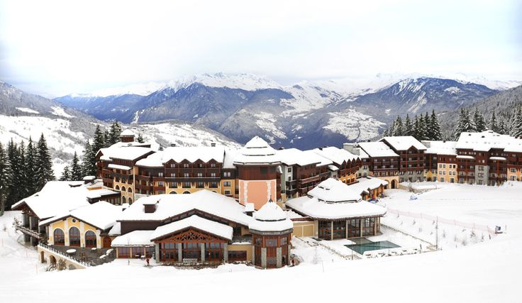 Nestled in a picturesque valley in the French Alps, Club Med Valmorel draws on traditional chalet design to create a modern resort perfect for the whole family.