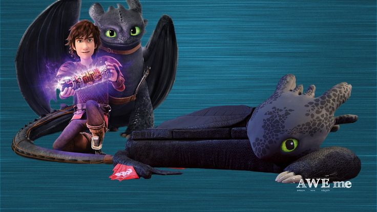 Toothless Couch (Dragons: Race to the Edge) - Super-Fan Builds