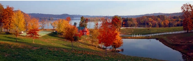 Gorgeous Autumn on Watts Bar Lake in TN.