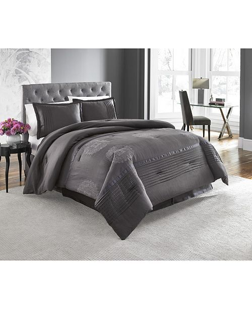 Huntley 4 Piece King Comforter Set In 2019 Lovely Home 2019
