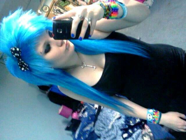 Just blue (: