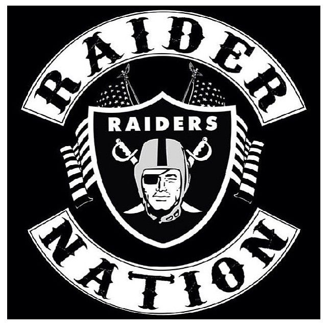 48 best images about OakLAnd Raiders Artwork on Pinterest ...  Cool Raiders Logo