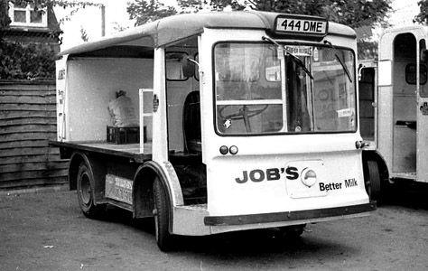 Job's Dairy - Milk Floats