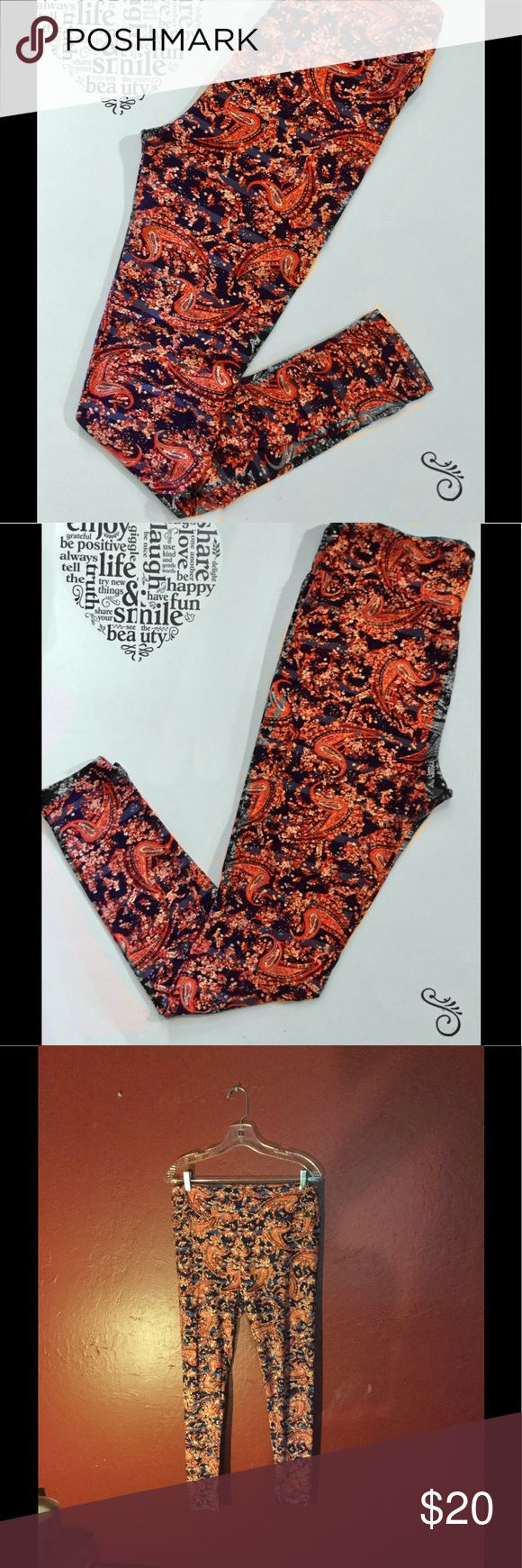 Lularoe TC Red Patterned Buttery Soft Leggings These are a pair of patterned Lularoe leggings from their Tall and Curvy line. These are absolutely stunning. They have the signature buttery soft feel that all of the Lularoe line has. These are pre-owned, but in great condition. Keywords: leggings, skirt, pants, plus size, one size, large, unicorn LuLaRoe Pants Leggings