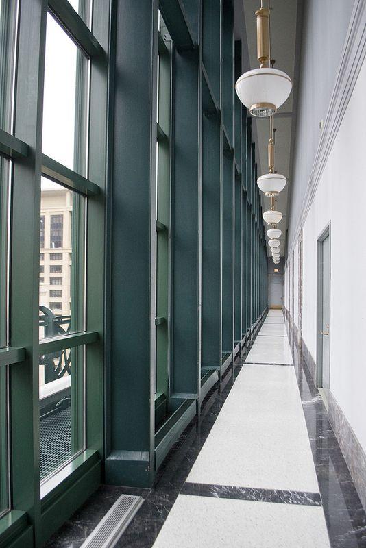 68 365 Chicago Public Library 9th Floor Windows