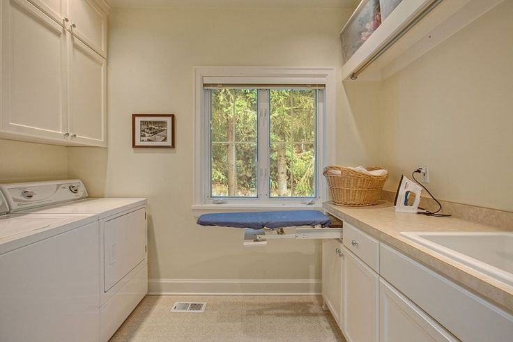 Drop In Laundry Room Sink : Ironing boards, Laundry sinks and Laundry rooms on Pinterest