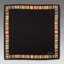 Paul Smith Handkerchiefs - Multi Stripe Boarder Handkerchief