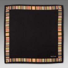 Paul Smith Handkerchiefs - Multi Stripe Boarder Handkerchief