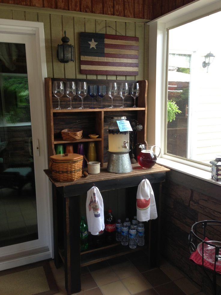 17 Best Ideas About Potting Bench Bar On Pinterest Patio