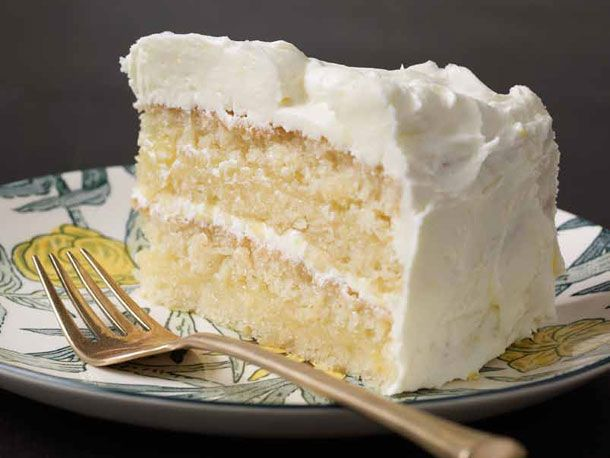 Gluten-free Lemon Layer Cake | Serious Eats : Recipes works with xylitol...3/4 of 3/4 cup per half recipe. Used almond milk. Baked for 27 min.