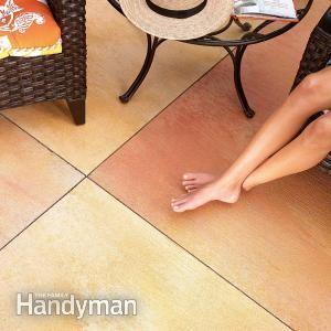 Stain Concrete Patio