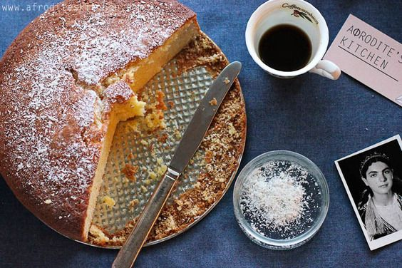 BEST Vasilopita recipie.  I've received many compliments on it.  Brandy-Orange New Year's Cake (Vasilopita), a recipe on Food52