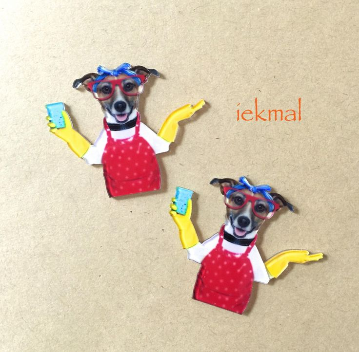 2pcs / Dog Wife / Laser Cut Acrylic Flatback Stuff / DIY.PhoneCase.Charms.Keychain.Badge.Cake Topper.Cards.Dog.Animals.Paw.Jack Russell by iekmal on Etsy https://www.etsy.com/hk-en/listing/290910391/2pcs-dog-wife-laser-cut-acrylic-flatback