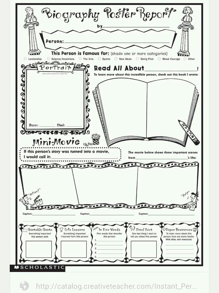 28 Best Book Report Ideas: Middle School Images On Pinterest
