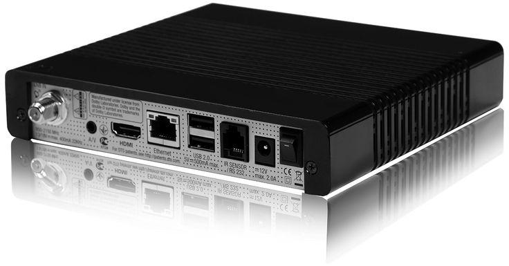 VU+ ZERO 1x DVB-S2 Linux Receiver Full HD 1080p schwarz: Amazon.de: Heimkino, TV & Video
