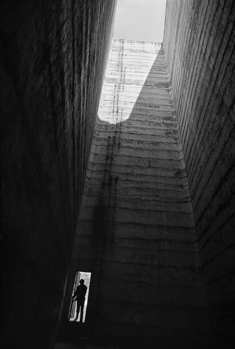 """Rene Burri - """"Satellite City Towers"""" by the Mexican architect Luis Barragan."""