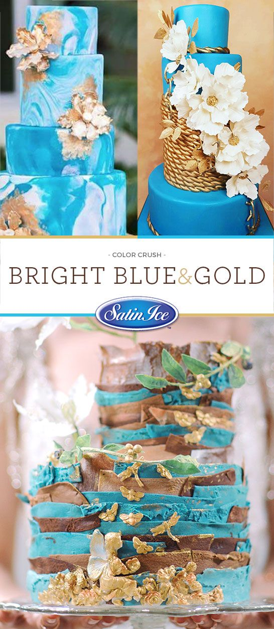 """Add a """"POP"""" of color to your ceremony with this dynamic blue!"""