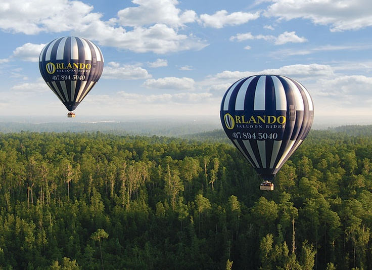 flying high in Orlando (With images) Hot air balloon
