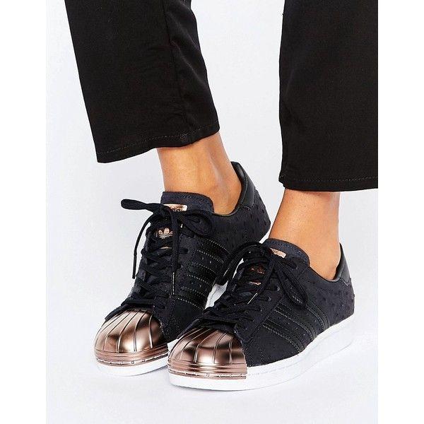 Adidas Trainer Noir Et Dore