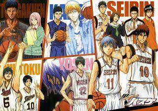 Download Anime Kuroko's Basketball Manga Seri season 1 Episode 1-25 Gratis Mudah…
