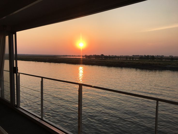 Fantastic African Sunset over the Chobe River