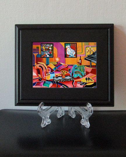 Prints Pico Print Framed Artwork Pablo Small Art
