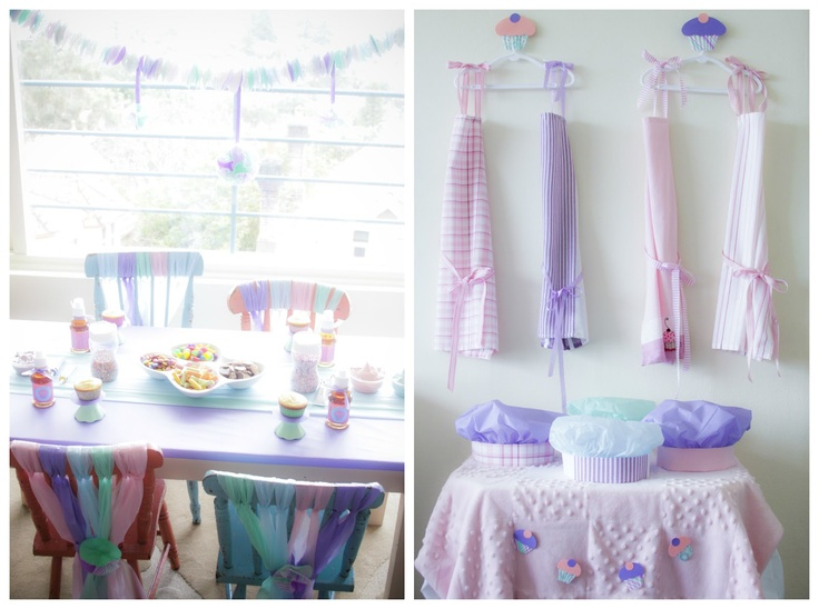 Oh, just cute - chairs, aprons..