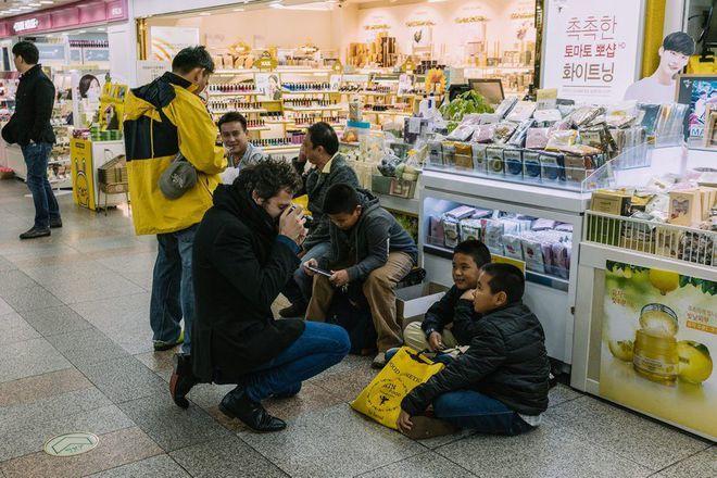 -M- a.k.a Matthieu Chedid in Seoul.