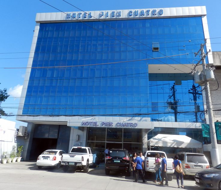 Hotel Pier Quatro, Cebu City, July 17th.