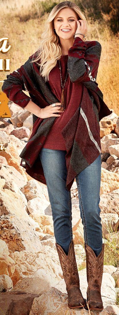 Kelsea Ballerini Boot Barn Perfect Autumn Fall outfit