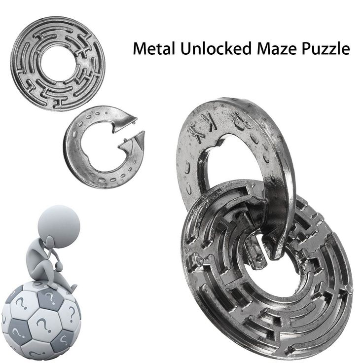 Metal Puzzle // Price: $10.95 & FREE Shipping //    #boardgame #cardgame #game #puzzle #maze