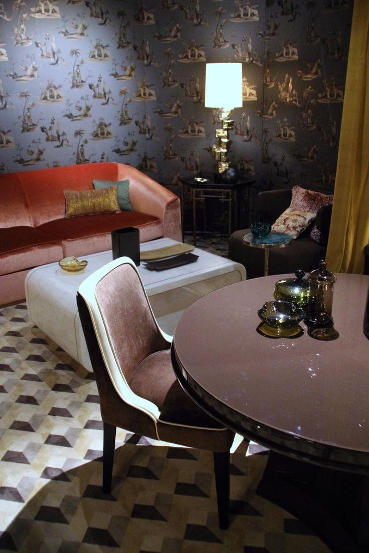 De salon van residence haute couture in het interieur for Couture de salon
