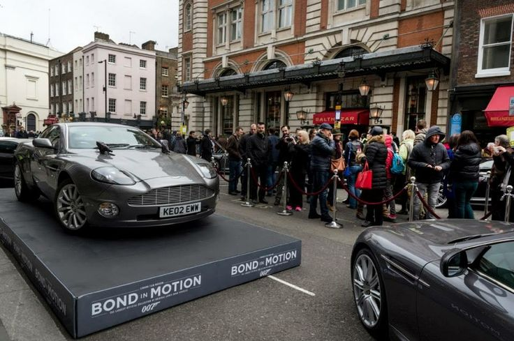 21/03/15 Bond in Motion - Lo don film museum || photo credit: Aston Martin