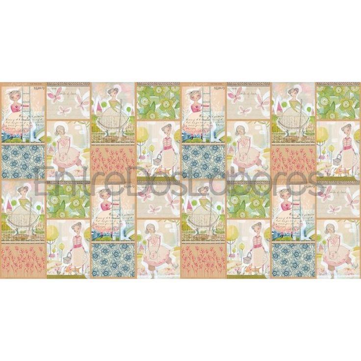 Tela de patchwork Blend Fabrics Mod. The sweet life small truths panel multi.