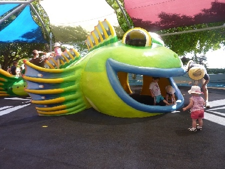 Muddy's Playground located on the Cairns Esplanade is the perfect place for kids of all ages. #muddysCairns.