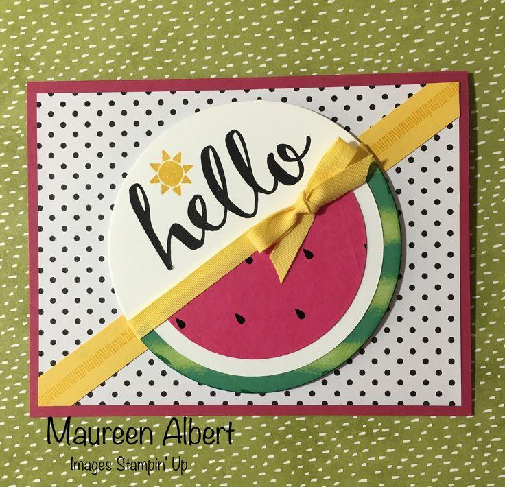 June 2017 Paper Pumpkin Alternative card.
