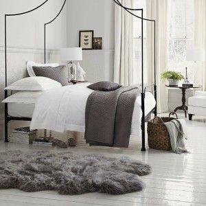 Make your own faux sheepskin rug - Interior Design Tips