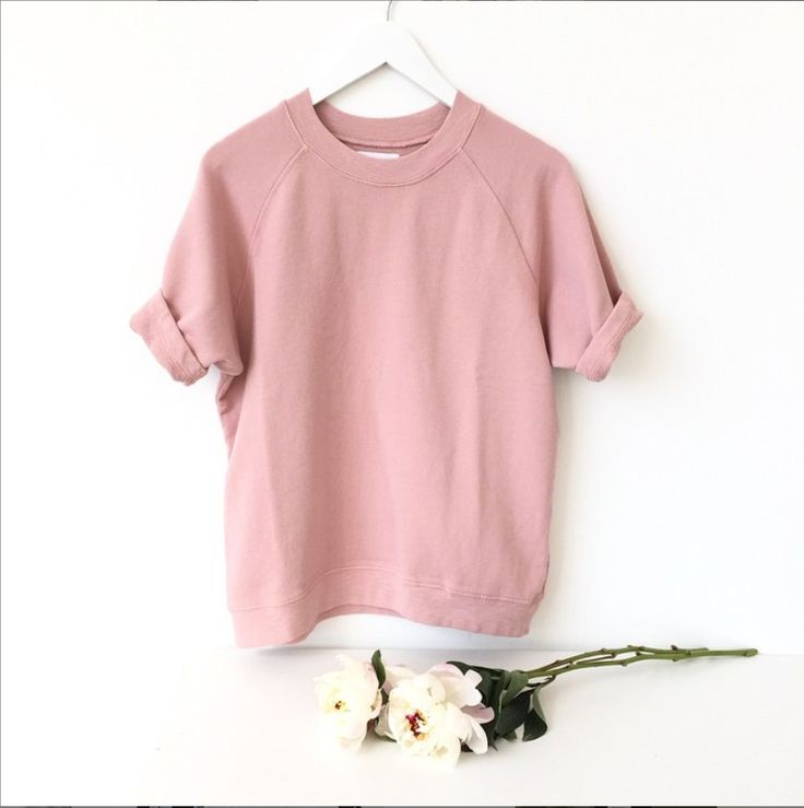 Cara Shortsleeve http://shopsincerelyjules.com/collections/shop/products/cara-short-sleeve-sweatshirt-rose
