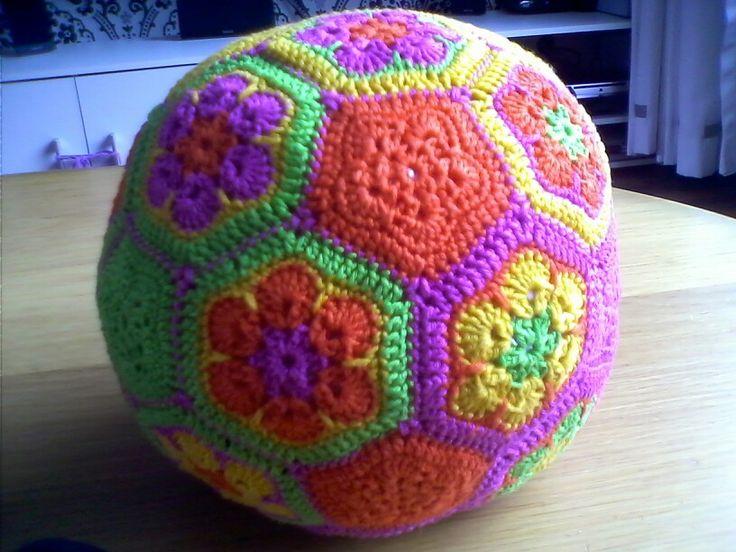 African flower bal