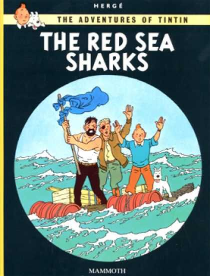 Tintin, The Red Sea Sharks, Herge