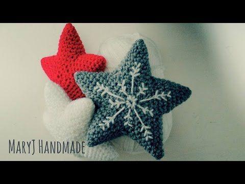 How to crochet an amigurumi star | Tutorial in English