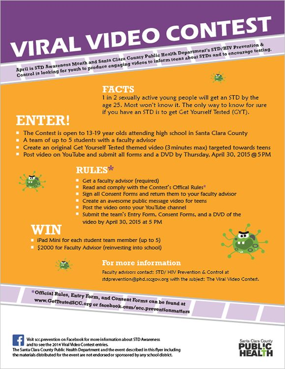 For The Viral Video Contest Flyer And Viral Video Contest Official