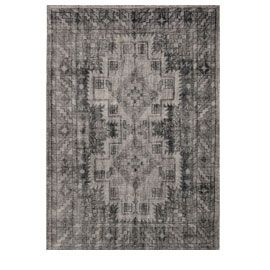 Heal's   Sentimental Handknotted Black And Grey Rug - Rugs - Rugs - Living Room