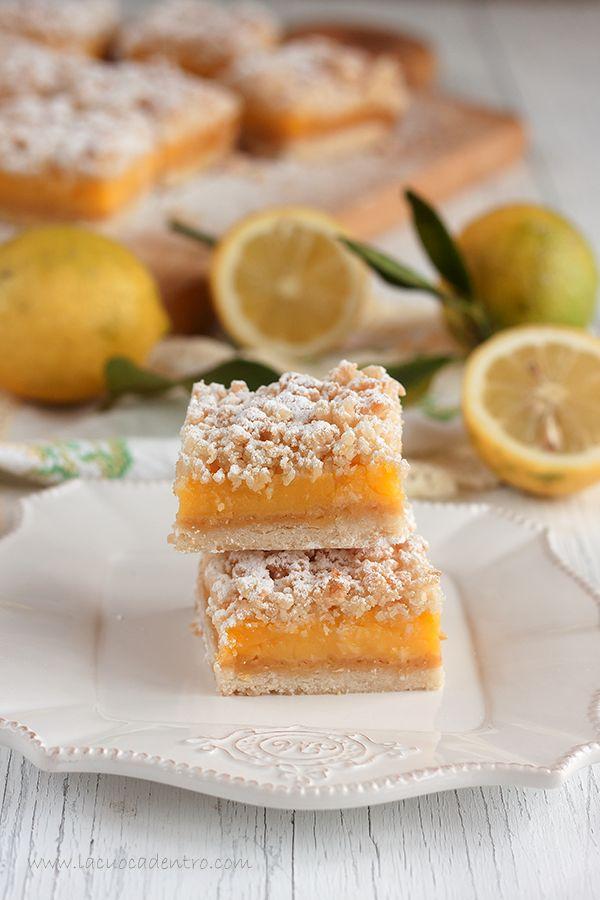 lemon crumbe bars